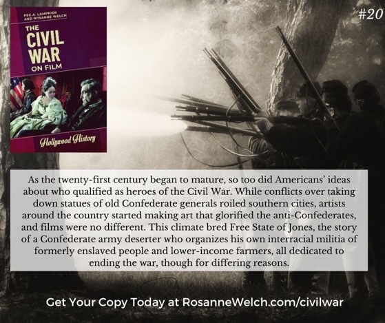 The Civil War On Film - 20 in a series - ...Americans' ideas about who qualified as heroes of the Civil War.