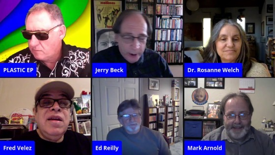 Dr. Rosanne Welch Joins Panel on the Monkees TV Show with Plastic EP Live [Video] (49 Minutes)