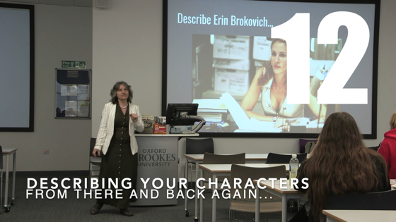 12 Describing Your Characters from There And Back Again: Writing and Developing for American TV [Video] (1 minute)
