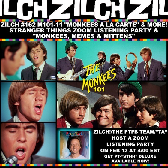 "Drs. Rosanne Welch and Sarah Clark discuss The Monkees ""Monkees A La Carte"" episode on the Zilch Podcast's Monkees 101 Series [Audio]"