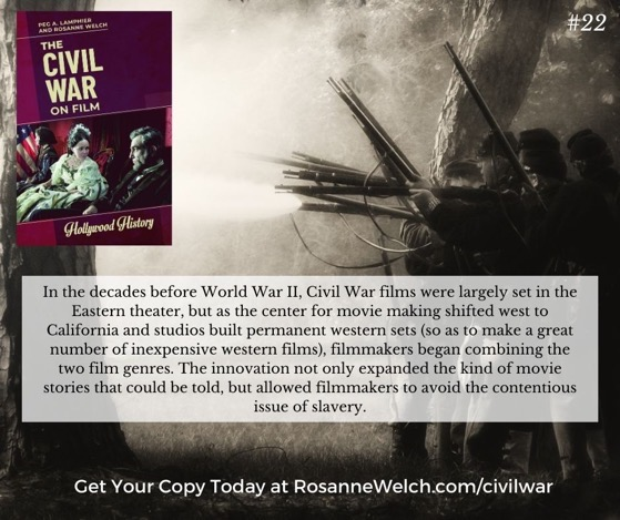 The Civil War On Film - 22 in a series -