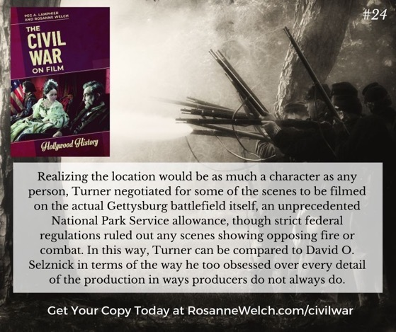 The Civil War On Film - 24 in a series -
