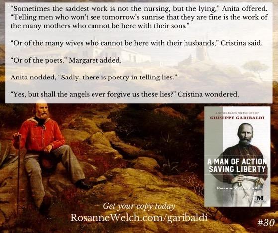 """A Man Of Action Saving Liberty: A Novel Based On The Life Of Giuseppe Garibaldi"" – 30 in a series"