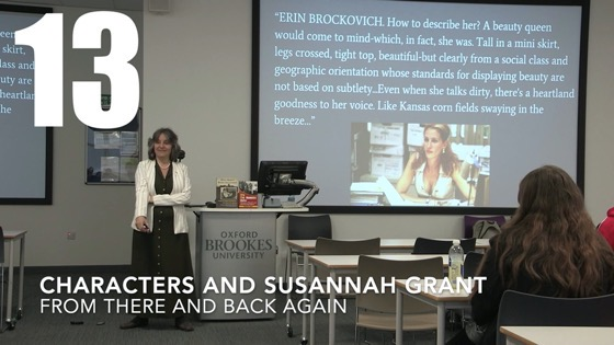 13 Characters and Susannah Gra from There And Back Again: Writing and Developing for American TV [Video] (56 seconds)