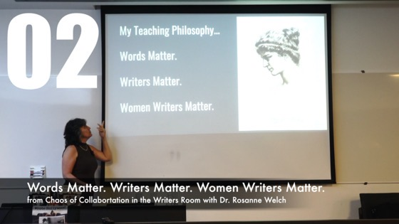 02 Words Matter. Writers Matter. Women Writers Matter from How The Chaos Of Collaboration in the Writers Room Created Golden Age Television [Video]