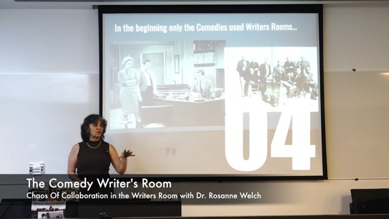 04 The Comedy Writer's Room from How The Chaos Of Collaboration in the Writers Room Created Golden Age Television [Video]