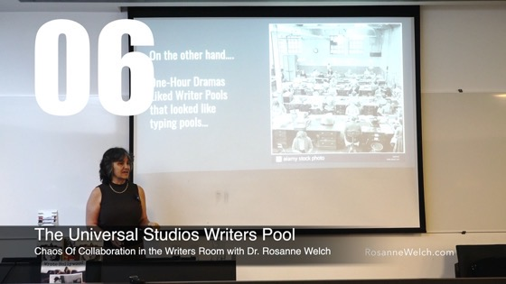 06 The Universal Studios Writers Pool from How The Chaos Of Collaboration in the Writers Room Created Golden Age Television [Video]