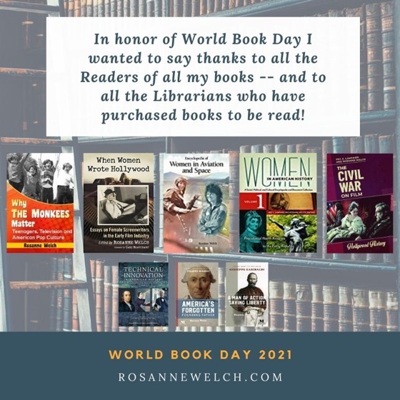 In honor of World Book Day I wanted to say thanks to all the Readers of all my books -- and to all the Librarians who have purchased books to be read!  What would we do without librarians and libraries?  Writers need them for our research and readers need them as homes away from home.  I can't count the summer days I spent in the local library gathering a cart of books to take home and read. As an only child, books were my summer companions.  Now it's amazing to me to think books with my name on them sit on shelves beside all the ones I loved.   Read a book today to celebrate a Happy World Book Day!