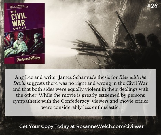 The Civil War On Film - 26 in a series -