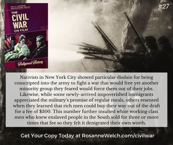 The Civil War On Film - 27 in a series -