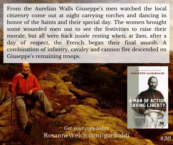 """A Man Of Action Saving Liberty: A Novel Based On The Life Of Giuseppe Garibaldi"" – 31 in a series"