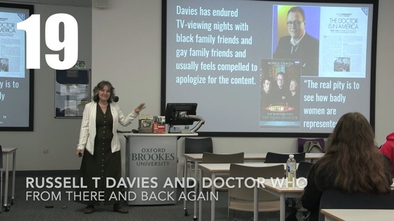 18 Russell T Davies and Doctor Who from There And Back Again: Writing and Developing for American TV [Video] (40 seconds)