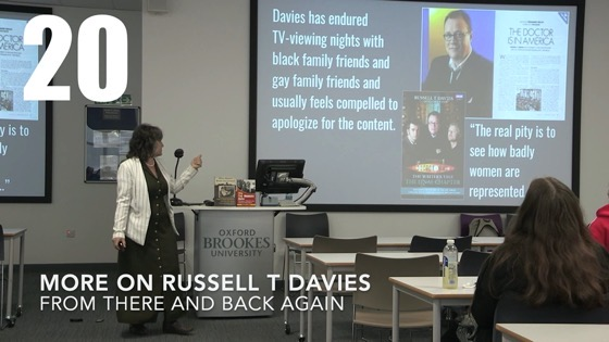 20 More On  Russell T Davies from There And Back Again: Writing and Developing for American TV [Video]