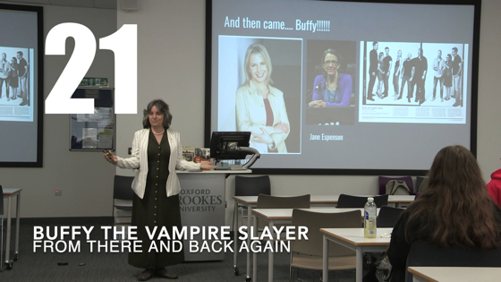 21 Buffy The Vampire Slayer from There And Back Again: Writing and Developing for American TV [Video]