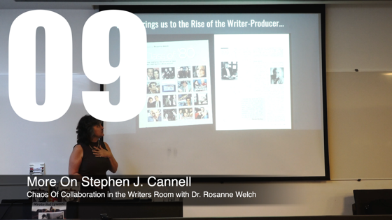 09 More on Stephen J. Cannell from How The Chaos Of Collaboration in the Writers Room Created Golden Age Television [Video]