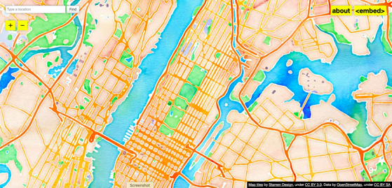 Behind the Design Watercolor Maptiles via the Cooper Hewitt Museum [Live] - May 18, 2021