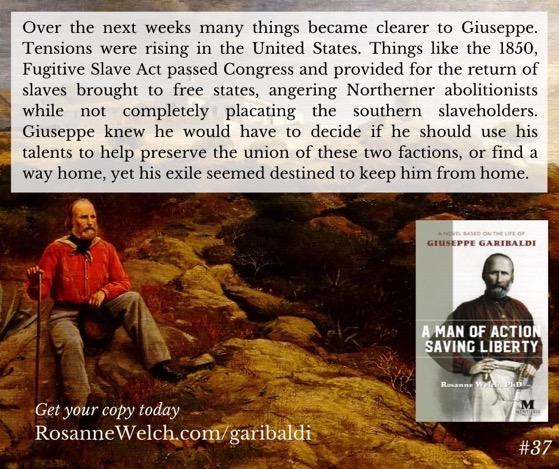 """A Man Of Action Saving Liberty: A Novel Based On The Life Of Giuseppe Garibaldi"" – 37 in a series"