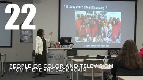 22 People of Color and Television from There And Back Again: Writing and Developing for American TV [Video]