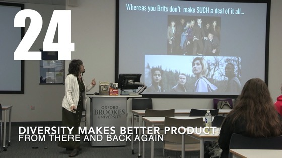 24 Diversity Makes Better Product from There And Back Again: Writing and Developing for American TV [Video]