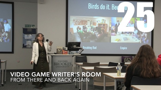 25 Video Game Writer's Rooms from There And Back Again: Writing and Developing for American TV [Video]