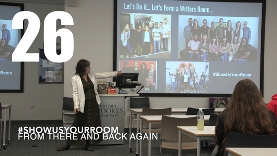 26 ShowUsYourRoom from There And Back Again: Writing and Developing for American TV [Video]