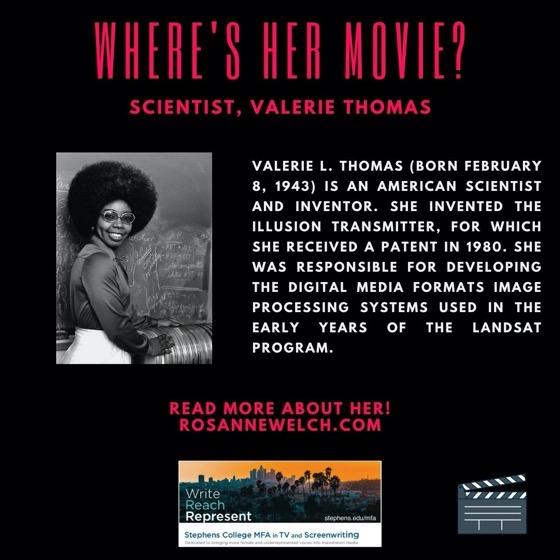 Scientist, Valerie Thomas