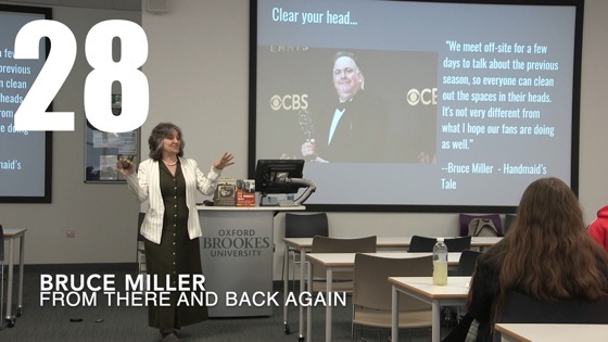 28 Bruce Miller from There And Back Again: Writing and Developing for American TV [Video]