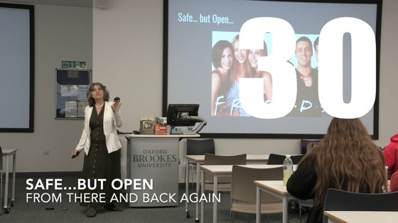 30 Safe…But Open from There And Back Again: Writing and Developing for American TV [Video]