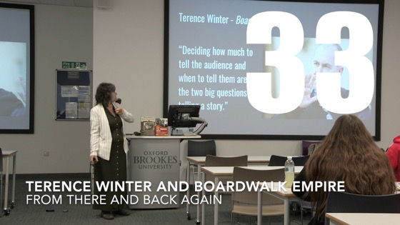33 Terence Winter and Boardwalk Empire from There And Back Again: Writing and Developing for American TV [Video]