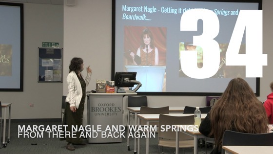 34 Margaret Nagle and Warm Springs from There And Back Again: Writing and Developing for American TV [Video]