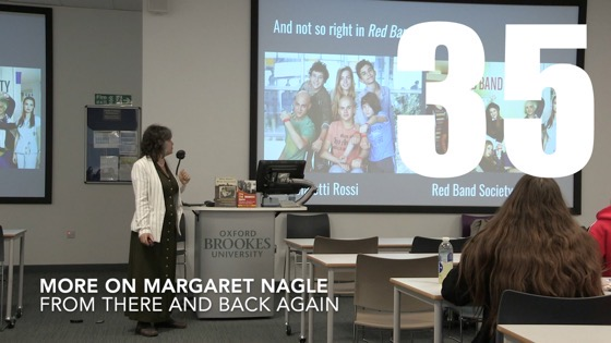 35 More on  Margaret Nagle from There And Back Again: Writing and Developing for American TV [Video]