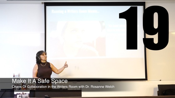 19 Make It A Safe Space from How The Chaos Of Collaboration in the Writers Room Created Golden Age Television [Video]