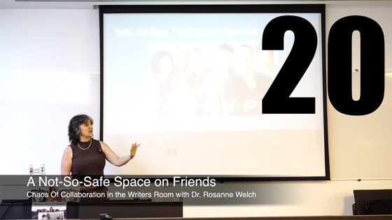20 A-Not-So Safe Space on Friends from How The Chaos Of Collaboration in the Writers Room Created Golden Age Television [Video]