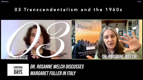 03 Transcendentalism and the 1960s from Concord Days: Margaret Fuller in Italy [Video]