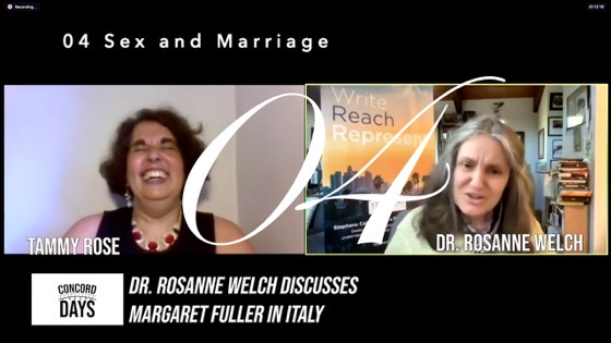 04 Sex and Marriage from Concord Days: Margaret Fuller in Italy [Video]