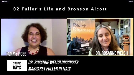 02 Fuller's Life and Bronson Alcott from Concord Days: Margaret Fuller in Italy [Video]