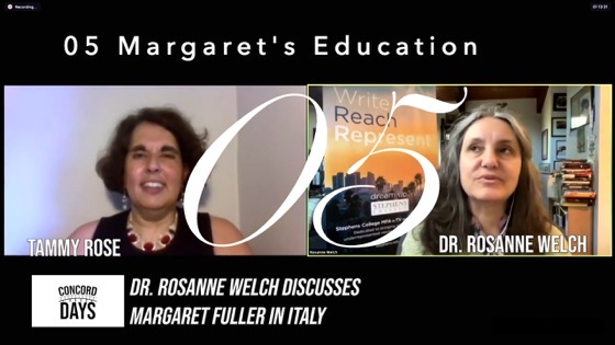 05 Margaret's Education from Concord Days: Margaret Fuller in Italy [Video]