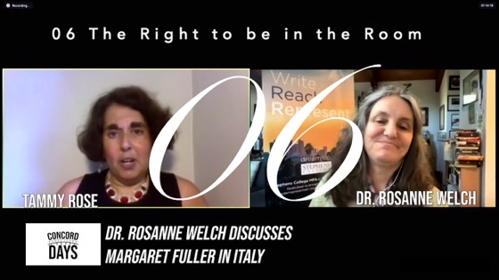 06 The Right to be in the Room from Concord Days: Margaret Fuller in Italy [Video]