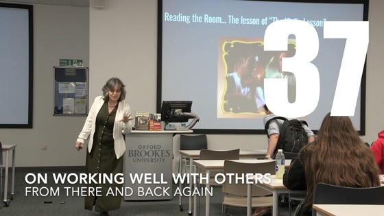 37 Working Well With Others from There And Back Again: Writing and Developing for American TV [Video[