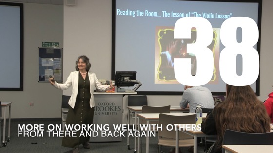 38 More On Working Well With Others from There And Back Again: Writing and Developing for American TV [Video]