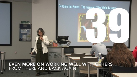 39 Even More On Working Well With Others from There And Back Again: Writing and Developing for American TV [Video]