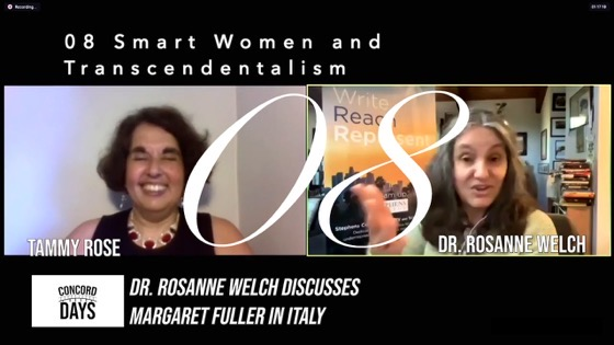 08 Smart Women and Transcendentalism from Concord Days: Margaret Fuller in Italy [Video]