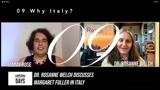 09 Why Italy? from Concord Days: Margaret Fuller in Italy [Video]