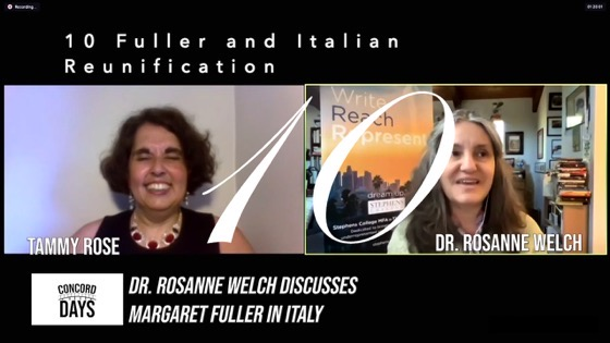 10 Fuller and Italian Reunification from Concord Days: Margaret Fuller in Italy [Video]