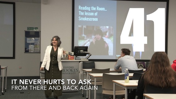 41 It Never Hurts to Ask from There And Back Again: Writing and Developing for American TV [Video]