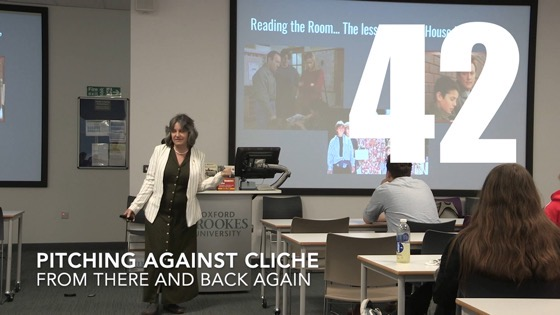 42 Pitching Against Cliche from There And Back Again: Writing and Developing for American TV [Video]