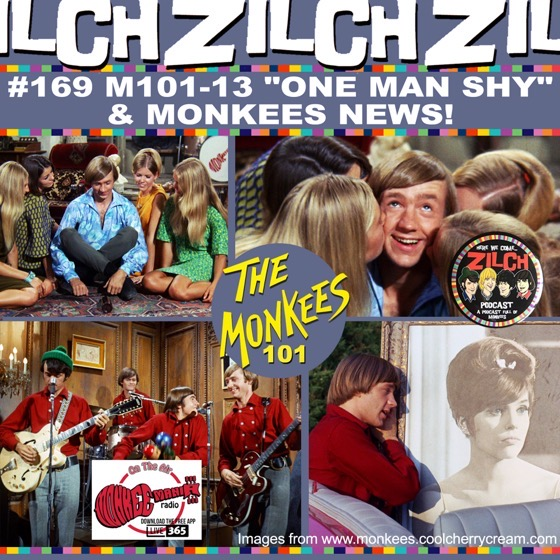 """Drs. Rosanne Welch and Sarah Clark discuss The Monkees """"One Man Shy"""" episode on the Zilch Podcast's Monkees 101 Series"""