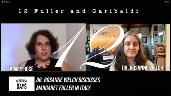 12 Fuller and Garibaldi from Concord Days: Margaret Fuller in Italy [Video]