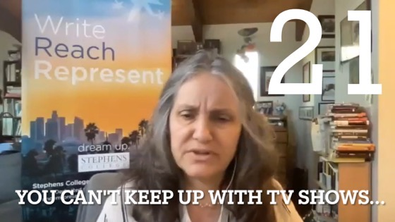 21 You Can't Keep Up With TV Shows from Worry and Wonder | The Courier Thirteen Podcast [Video]