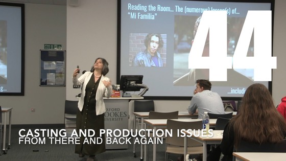 45 Casting and Production Issues from There And Back Again: Writing and Developing for American TV [Video]